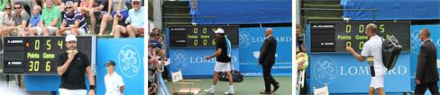 Scorebord tennis