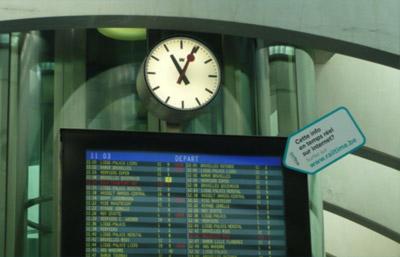 Stationsklokken